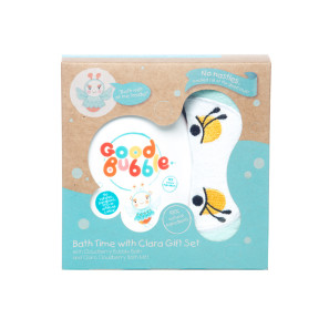 Good Bubble Bath Time with Clara Bubble Bath & Wash Mitt Set
