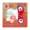 Good Bubble Bath Time with Dexter Bubble Bath & Wash Mitt Set