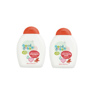 Good Bubble Bish Bash Bosh! Hair & Body Wash and Clean as a Bean Shampoo with Dragon Fruit Extract
