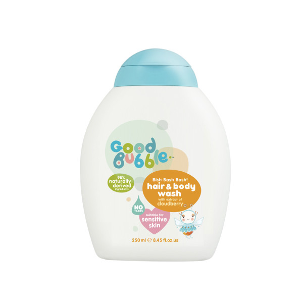 Good Bubble Bish Bash Bosh! Hair & Body Wash with Cloudberry Extract