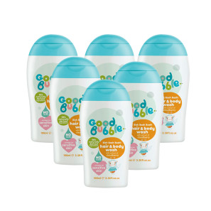 Good Bubble Bish Bash Bosh! Hair & Body Wash with Dragon Fruit Extract Six Pack