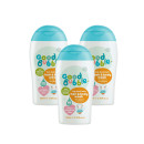 Good Bubble Bish Bash Bosh! Hair & Body Wash with Dragon Fruit Extract Triple Pack