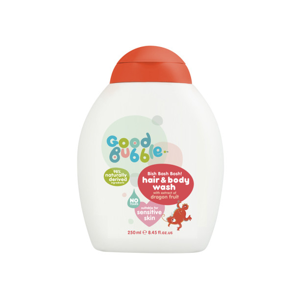 Good Bubble Bish Bash Bosh! Hair & Body Wash with Dragon Fruit Extract