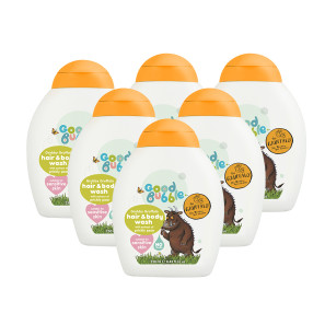 Good Bubble Grubby Gruffalo Hair & Body Wash with Prickly Pear Extract Six Pack