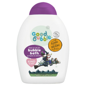 Good Bubble Room on the Broom Pumpkin and Wild Lily Bubble Bath