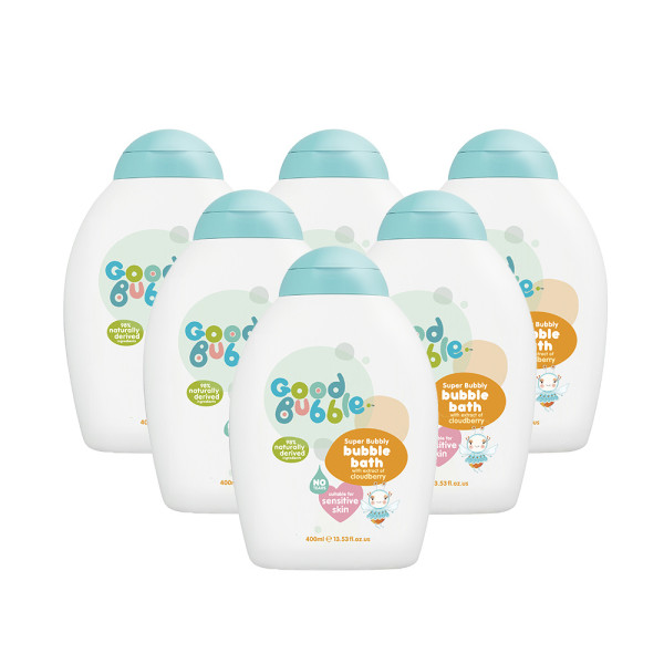 Good Bubble Super Bubble Bubble Bath with Cloudberry Extract Six Pack