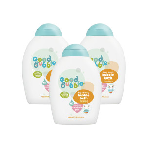 Good Bubble Super Bubble Bubble Bath with Cloudberry Extract Triple Pack