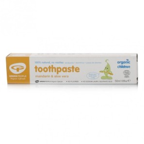 Green People Organic Children Mandarin Toothpaste