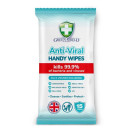 Green Shield Anti Viral Handy Wipes