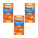 Haliborange Kids Omega-3 Fish Oil Chewy Capsules - Triple Pack