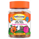 Haliborange Mr. Men Little Miss Omega-3 & Multivitamins Orange Softies 30s