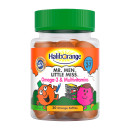 Haliborange Mr. Men & Little Miss Omega-3 & Multivitamin Softies Orange Flavoured