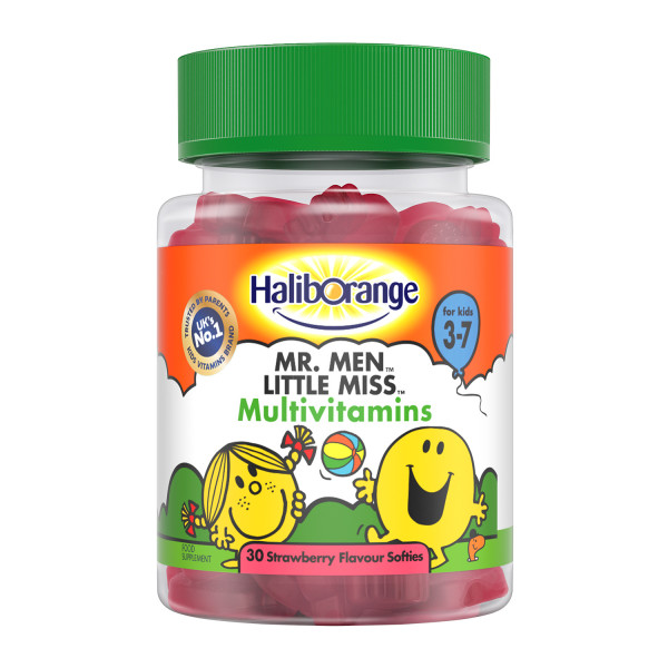 Haliborange Mr.Happy Multivitamin Strawberry Softies