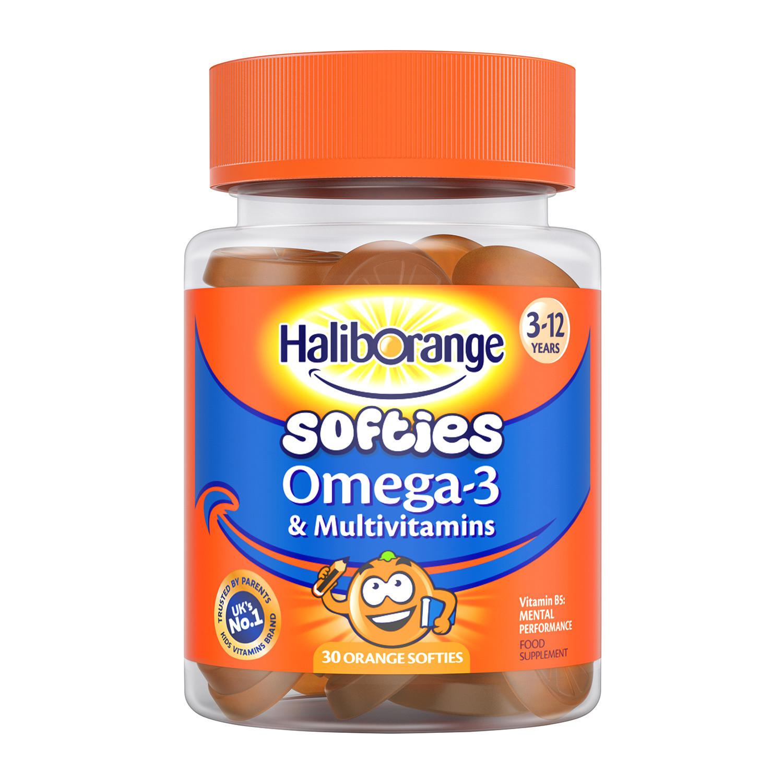 Haliborange Omega-3 & Multivitamin Orange Softies