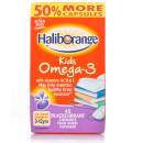 Haliborange Omega 3 Blackcurrant Flavour Chewable Capsules