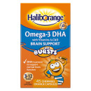 Haliborange Omega 3 DHA Brain Support Burst Capsules Orange