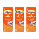 Haliborange Orange Omega-3 Syrup 400ml Triple Pack