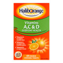 Haliborange Vitamins A C & D Tablets Orange Flavoured