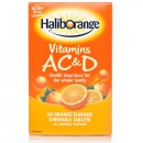 Haliborange Vitamins A C & D Orange Flavour
