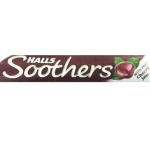 Halls Soothers Cherry Lozenges