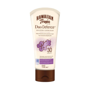 Hawaiian Tropic Duo Defense Sun Lotion SPF30