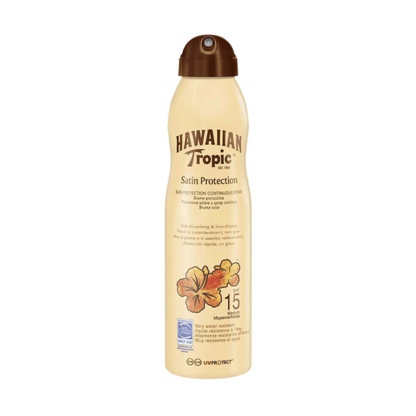 Hawaiian Tropic Satin Protection Continuous Spray Lotion SPF15