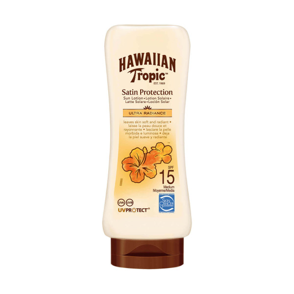 Hawaiian Tropic Satin Protection Ultra Radiance Sun Lotion SPF15