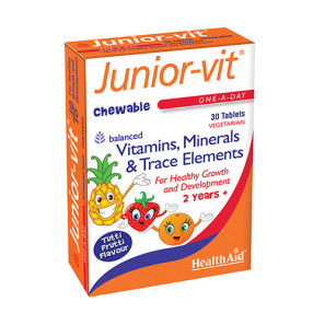 HealthAid Junior-vit Tablets 30s