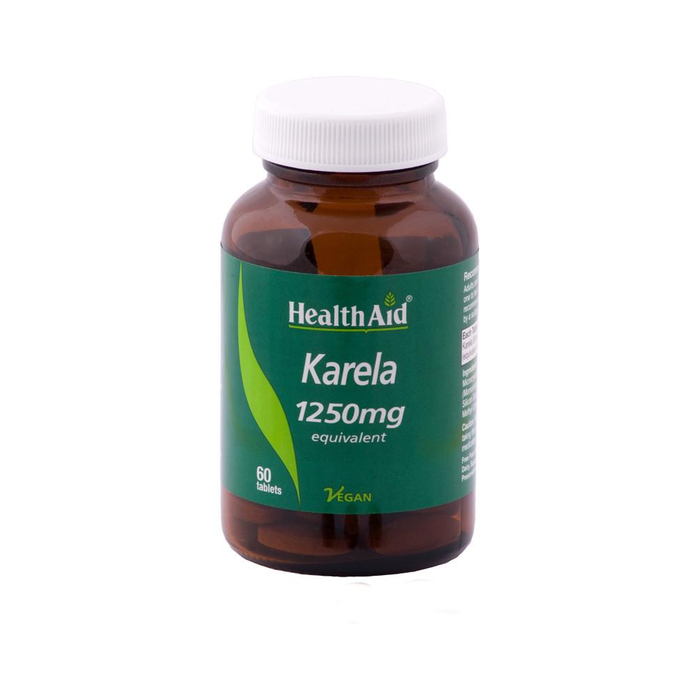 HealthAid Karela Extract 1250mg Tablets
