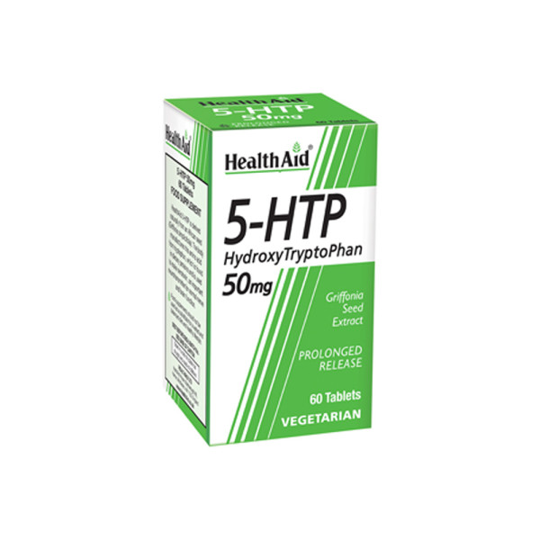 HealthAid HydroxyTryptoPhan 50mg Tablets
