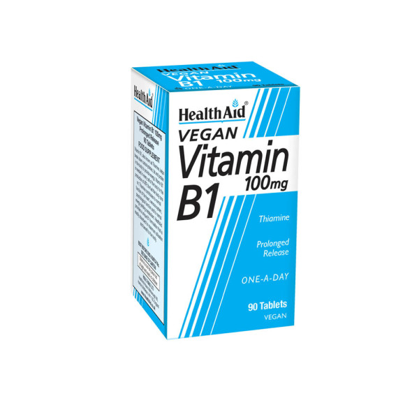HealthAid Vegan Vitamin B1 100mg