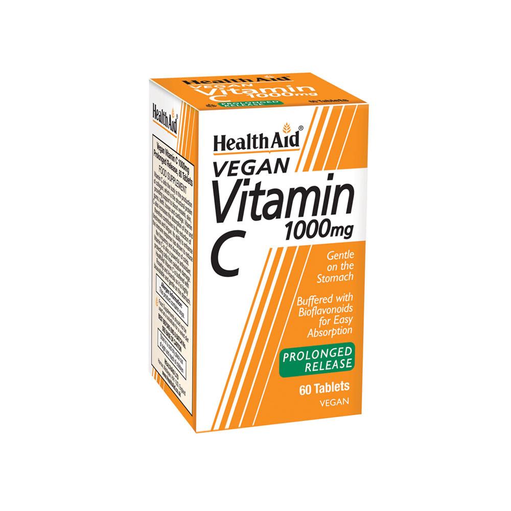 HealthAid Vitamin C 1000mg Prolonged Release Tablets