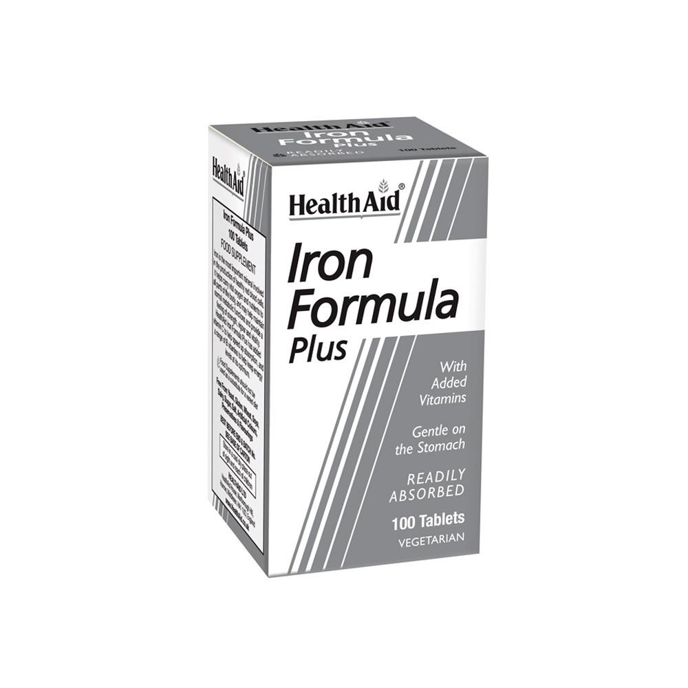 HealthAid Iron Formula Plus Tablets