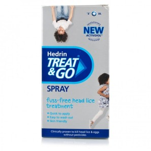 Hedrin Treat & Go Head Lice Spray