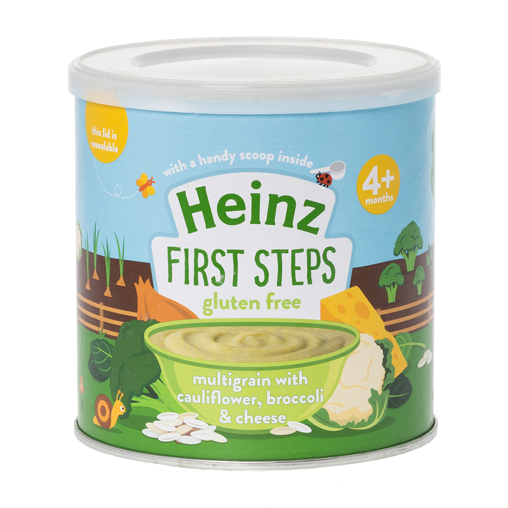 Click to view product details and reviews for Heinz 4month Multigrain Cauliflower Broccoli Cheese Dinners.