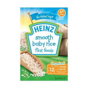 Heinz 4months+ Smooth Baby Rice First Food Expiry Date November 2019