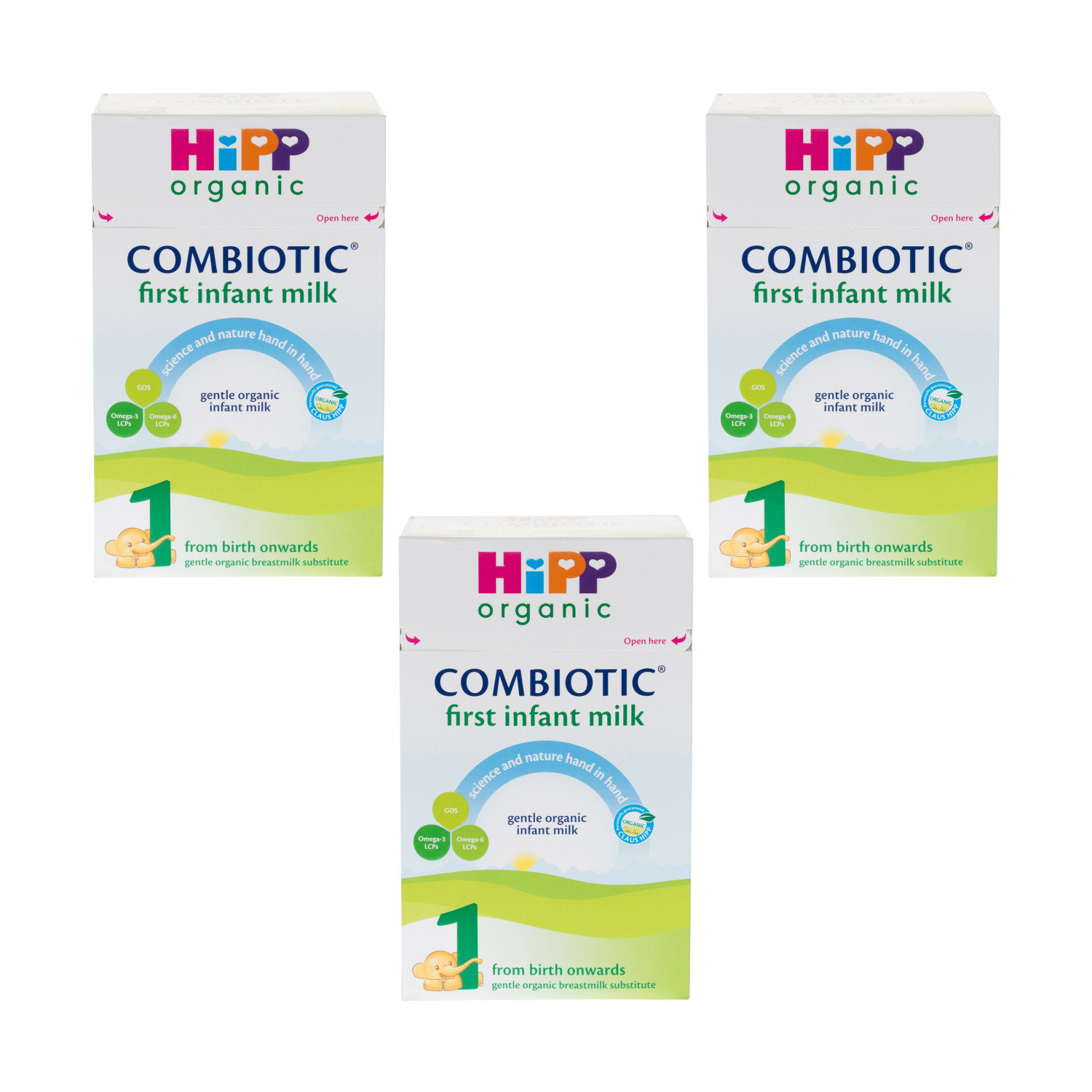 Click to view product details and reviews for Hipp Organic First Infant Milk Powder Triple Pack.