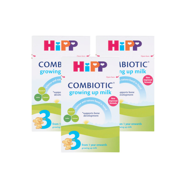 HiPP Organic Combiotic First Infant Milk 1 from Birth Onwards Triple Pack