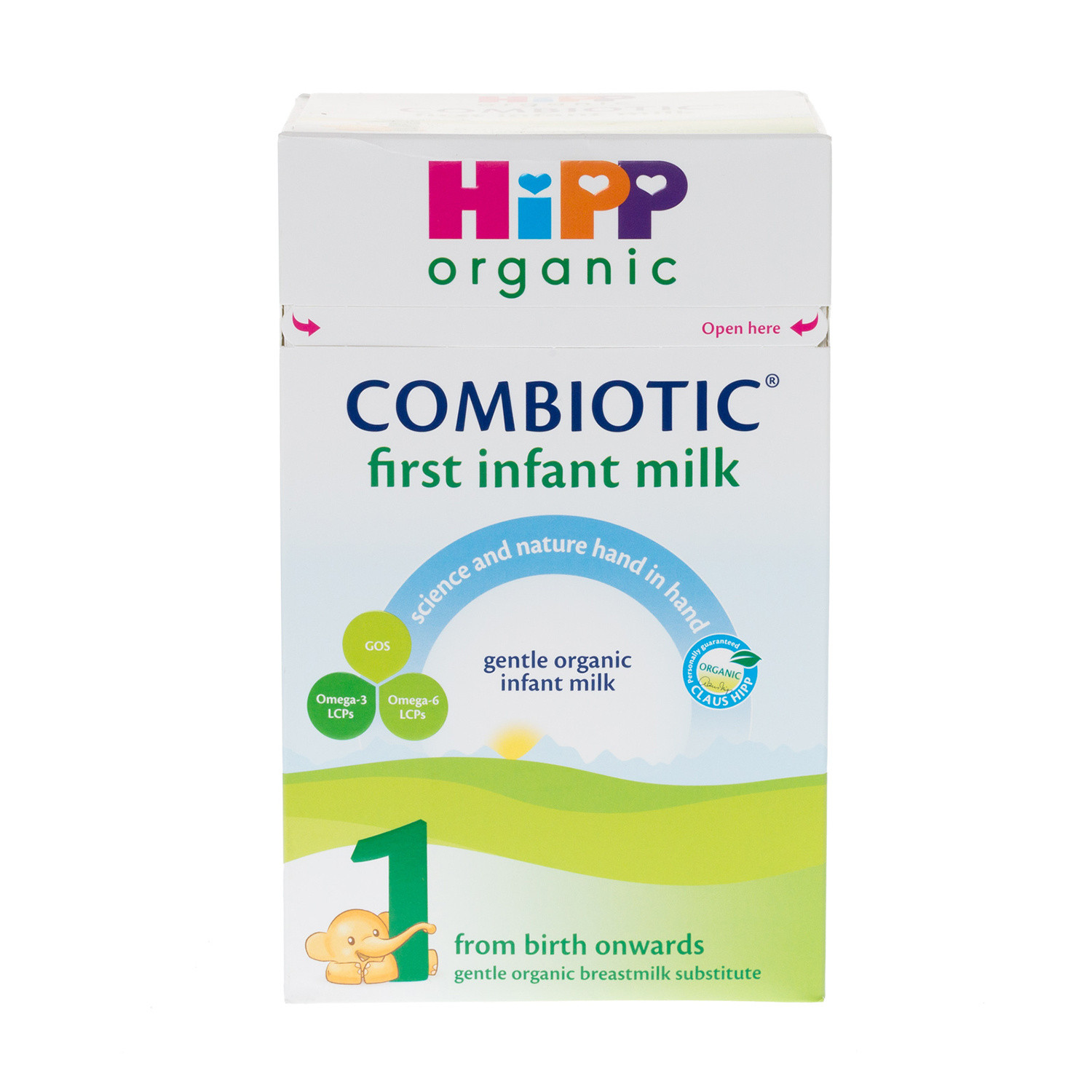 Click to view product details and reviews for Hipp Organic First Infant Milk Powder.