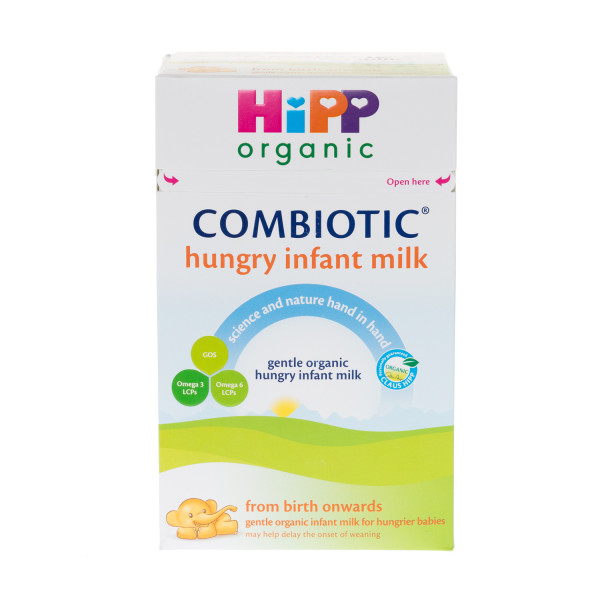 HiPP Organic Combiotic Hungry Infant Milk From Birth Onwards