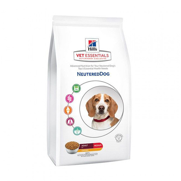 Click to view product details and reviews for Hills Science Plan Vet Essentials Neutered Adult Dog Chicken.