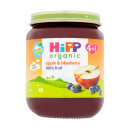 Hipp Organic 4months+ Apple & Blueberry Dessert