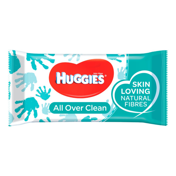 Huggies Baby All Over Clean Wipes