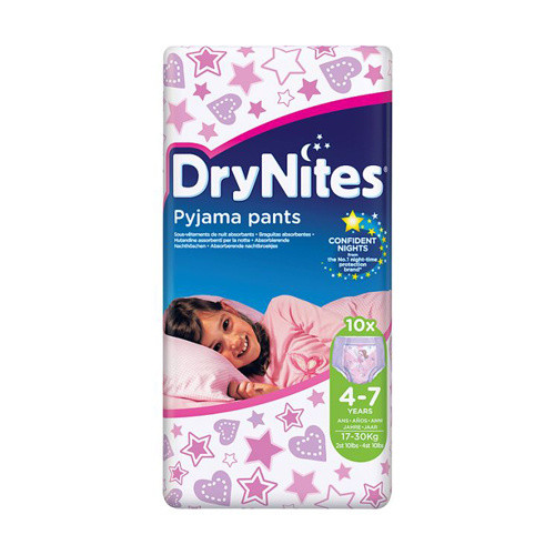 Click to view product details and reviews for Huggies Girls 4 7 Years Drynites Pyjama Pants.
