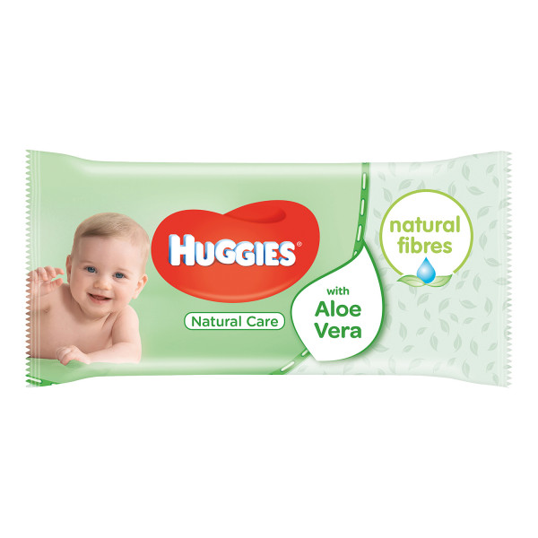 Huggies Natural Care Aloe Vera Baby Wipes