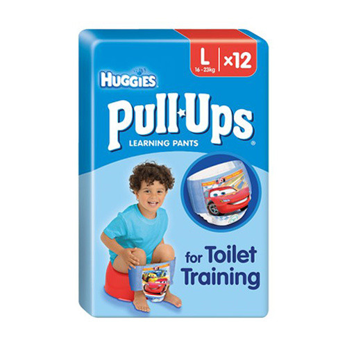 Click to view product details and reviews for Huggies Pull Ups Boys Large Pants.