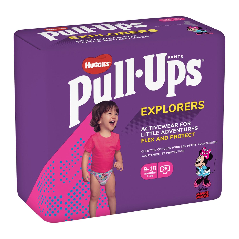 Huggies Pull Ups Explorers Girl Age 9-18m
