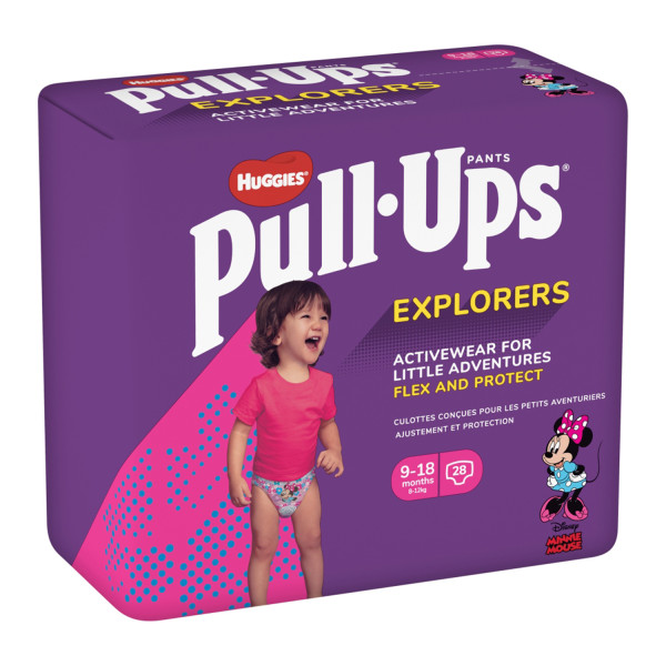 Huggies Pull Ups Explorers Girl Age 9-18m