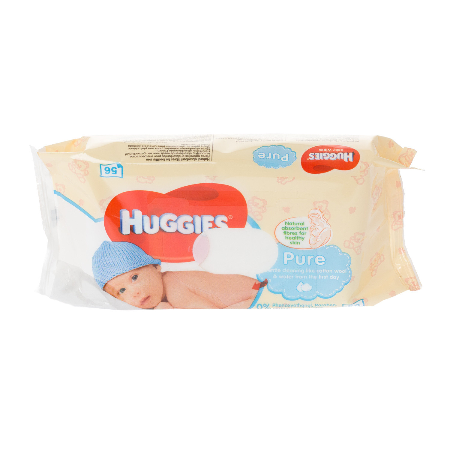 Click to view product details and reviews for Huggies Pure Baby Wipes.