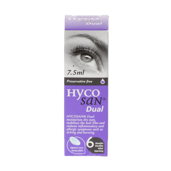 Hycosan Dual Lubricating Eye Drops